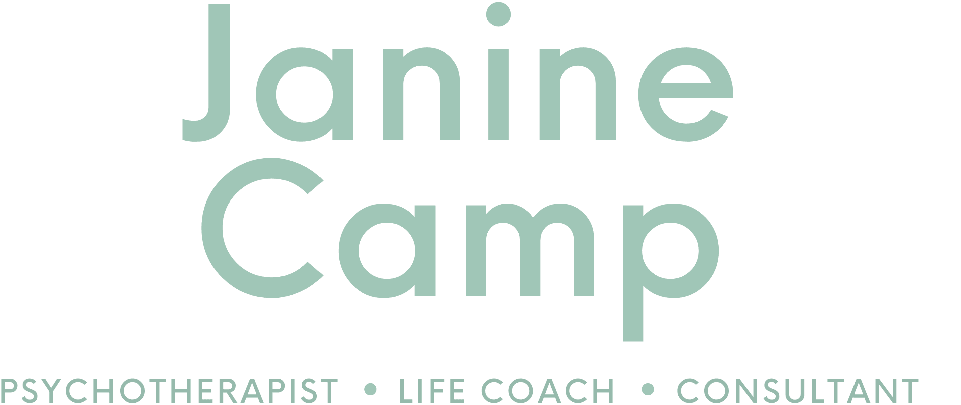 Psychotherapist (psychotherapy), life coach, consultant in London, UK – Janine Camp MBACP
